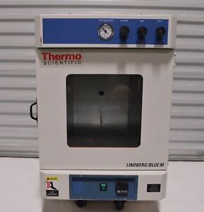 Thermo Lindberg Bluem Vo1218a 42 5 liter Lab Vacuum Oven W warranty