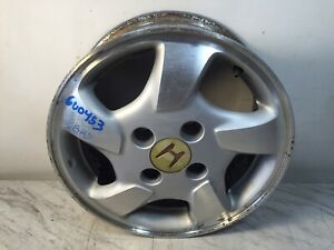 1998 2000 Honda Accord 15x6 4 Lug Alloy Aluminum Wheel Rim Oem