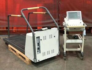 Ge Marquette Medical Treadmill Series 2000 W Marquette Max System Stress Test