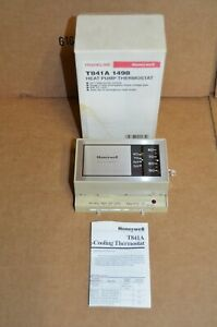 New Honeywell Tradeline T841a 1498 Heat Pump 2 Stage Thermostat York