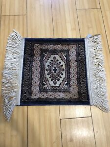 Authentic Hand Knotted Vintage Persian Bakhtiar Wool Area Rug 17w X 12l
