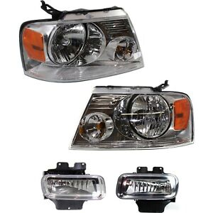 Auto Light Kit For 2006 Lincoln Mark Lt Driver And Passenger Side