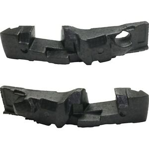 New Set Of 2 Bumper Face Bar Impact Absorbers Front Driver Passenger Side Pair