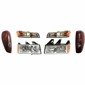 Auto Light Kit New Right and left For Chevy Lh Rh Chevrolet Colorado 2005 2007
