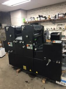 Ab Dick 9995 A Ryobi 3302 Ha Offset Printing Press New Rubber Ready To Ship