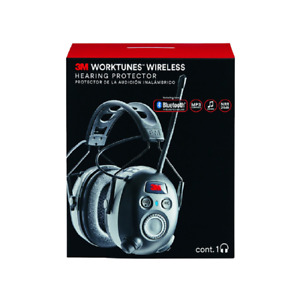 3m Worktunes Wireless Hearing Protector With Bluetooth Technology 90542 3dc