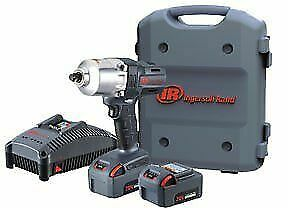 Ingersoll Rand W7150 K22 20v 5 0ah Lithium Ion 1 2 Inch Impact Kit Two Batteries