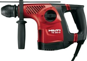 Hilti Te 30c avr Rotary Hammer Drill Kit Brand New Contractors Package