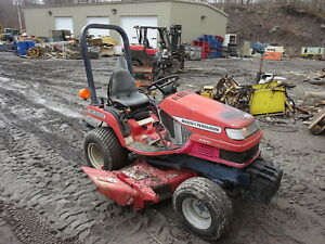 Massey Ferguson Gc2300 4x4 Compact Utility Tractor Mower Deck Mfwd Low Hrs