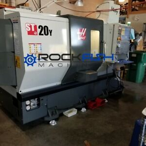 Haas St 20y Live Tooling And Y Axis Cnc Lathe