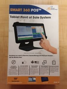 Royal Sovereign Smart 360 Pos 10 Tablet Point Of Sale System gently Used