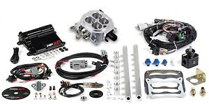 Holley Hp Efi Universal Mpi Retrofit Kit Fits 4150 Style Flange Holley 550 500
