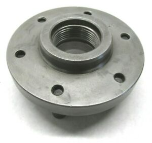 6 1 2 Lathe Chuck Mounting Plate W 2 1 4 8 Threaded Mount