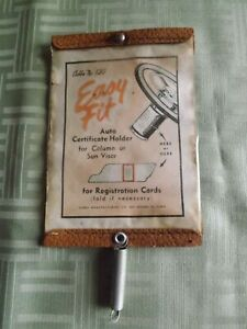 Vintage Cobbs No 130 Easy Fit Auto Certificate Holder