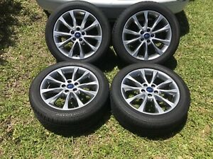 2017 17 Oem Ford Fusion Wheels And Tires 2013 2019 5x108 2016 2018