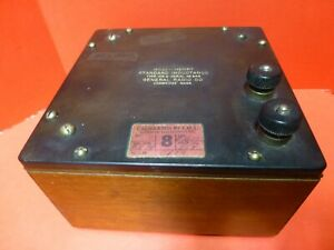 1 Mh Vintage General Radio Standard Inductance Type 106g Works Elegant Collector