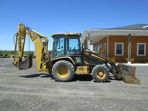 Caterpillar 430d It Loader Backhoe Used Diesel 4x4 Cab Heat A c Outriggers Rops