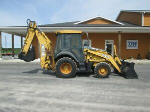 John Deere 310sg Loader Backhoe Used Diesel 4x4 All Glass Cab Heat Outriggers