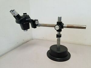 Bausch And Lomb 0 7x 3x Stereo Microscope With Eyepieces And Stand