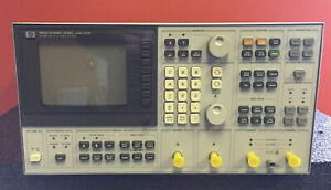 Hp Agilent 3562a 64 Mhz To 100 Khz Dual Channel Dynamic Signal Analyzer Tested