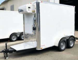 New Cooler Trailer Refrigerated Trailer 110 Cooler Unit