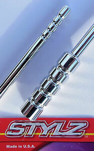 Stylz 6 Chrome Billet Antenna Fits Ford Ranger Truck 1982 Thru 2011