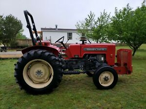 Mahindra Tractor W 3 Point Hitch Diesel Reads 1078 Hrs