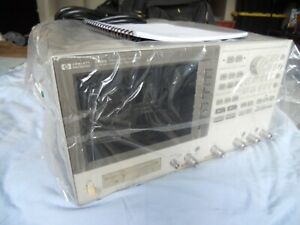 Hp Agilent 4396a Network Spectrum Impedance Analyzer Guaranteed Free Ship