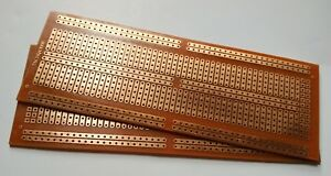 2 Pack Diy Pcb Prototype Solder Breadboard 830 Point Perf Board 4 8x13 4cm
