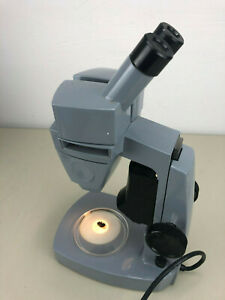 American Optical Stereozoom Microscope 10x 20x With Double Light Source