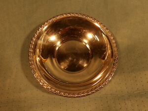 Wallace Sterling Silver H105 Candy Dish Bowl