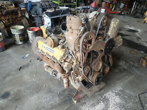 Caterpillar 1160 Diesel Engine Runs Exc 3208 Cat Truck Industrial 225 Hp