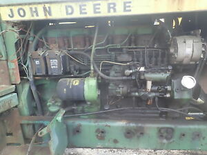 John Deere 6404t Diesel Engine Runs Mint 4430 Tractor 6 404 Turbo Inline Pump
