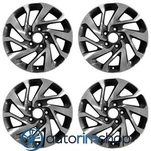 Honda Civic 2016 2017 2018 16 Oem Wheel Rim Set