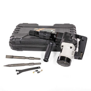 1000w Electric Demolition Hammer Jack Hammer Concrete Breaker Chisel Bit W Case