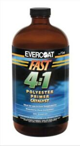 Fast 4 1 Polyester Primer Catalyst Qt Fibre Glass evercoat 734 Fib