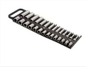 Large Magnetic 3 8 Socket Tray Black Lisle 40210 Lis
