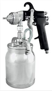 Siphon Feed Spray Gun With 1 Quart Aluminum Cup And 1 8mm Nozzle Astro Pneumatic