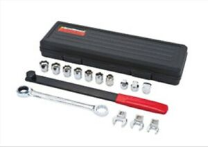 15 Pc Ratcheting Serpentine Belt Tool Set Gearwrench 3680 Kdt