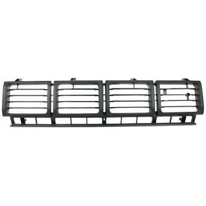 Grille For 80 81 Toyota Pickup Black Plastic