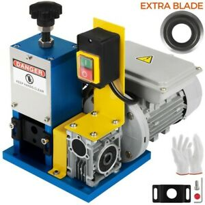 Electric Wire Stripping Machine Powered 1 4hp Cable Stripper With Extra Blade