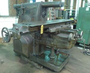 Kearney Trecker Horizontal Mill Milling Machine 25hp 5ck 18 X 94 Tbl 30506