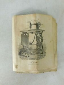 Original Antique Treadle Domestic Sewing Machine 591126 Manual Only