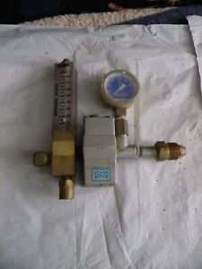 Linde Flow Meter Regulator R 5007 An Gauge