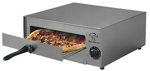 Home Kitchen Pizza Oven Stainless Steel Counter Top 18 Single Bake Chamber
