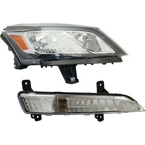 Headlight Kit For 2013 2017 Chevrolet Traverse Right Capa Certified Part 2pc