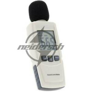 Gm1352 Digital Sound Level Meter Noise Tester 30 130db In Decibels Lcd Screen