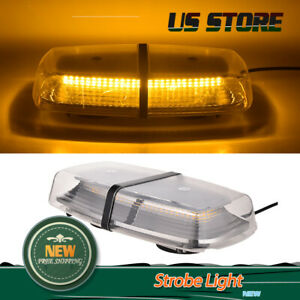 Amber 72w Car Roof 72 Smd Led Bulbs Emergency Strobe Warning Flash Light Lamp