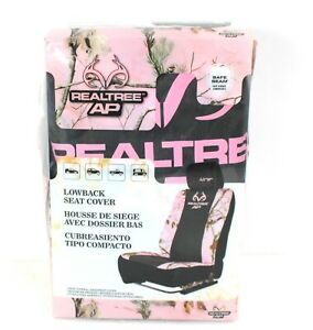 Realtree Ap Pink Camo Lowback Seat Cover New In Package