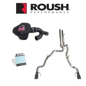 2019 F 150 Raptor Roush 422177 Exhaust Cold Air Performance Pac Level 2